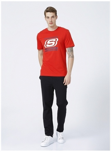 Skechers Tişört Kırmızı